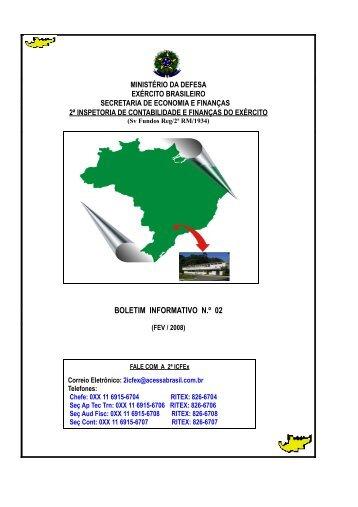 06 Mar 08 - 2ª ICFEx - Exército Brasileiro
