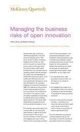 Managing the business risks of open innovation - petrofed.winwinho...