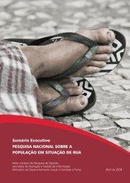 Pesquisa Nacional sobre a População em Situação de Rua