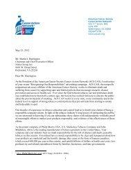 May 23, 2012 Mr. Martin J. Barrington Chairman and Chief ...