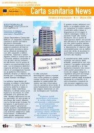 Nr.6 - 10.2006 [201 KB] - Rete Sanitaria