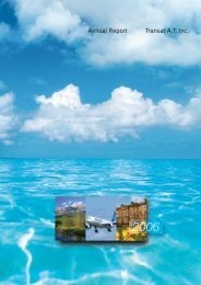 Annual Report Transat A.T. Inc. - Transat, Inc.