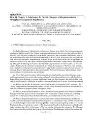 Appendix B: Title 44, Chapter 1, Subchapter B, Part 60 ... - Park County