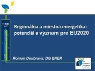 Systematický energetický manažment a Dohovor ... - ManagEnergy