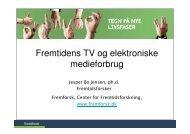 TV i fremtiden - Fremtidsforskeren Jesper Bo Jensen