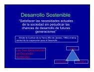 Presentación Desarrollo Sostenible