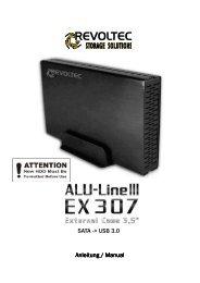 SATA -> USB 3.0 Anleitung / Manual Anleitung / Manual - be quiet!
