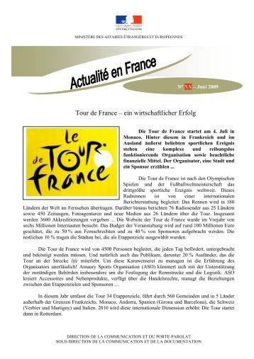 Tour de France – ein wirtschaftlicher Erfolg - La France en Suisse