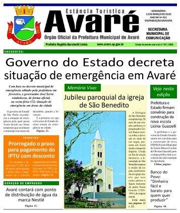 todas páginas.p65 - Câmara Municipal da Estância Turística de ...