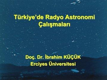 Slayt 1 - Türkiye Ulusal Radyo Astronomi Gözlemevi - Erciyes ...