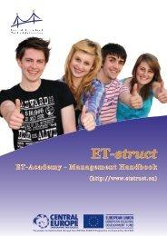 ET-Academy - Management Handbook - ET-struct