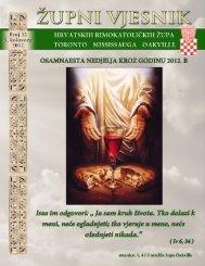 5. kolovoza 2012 - Župa Naše Gospe Kraljice Hrvata