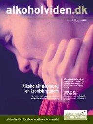 Alkoholafhængighed en kronisk sygdom - Socialstyrelsen