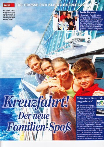 Kreuzfahrt - Kids-on-Cruise