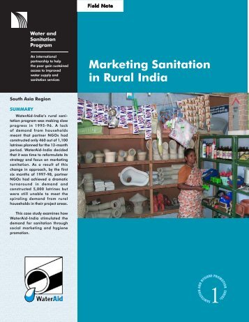 Marketing Sanitation in Rural India (World Bank) - The Water ...