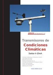 Transmisores de Condiciones Climáticas - Intech Instruments Ltd