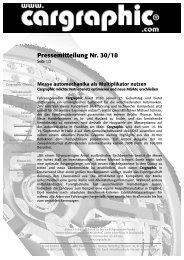 30/10 Messe automechanika als Multiplikator nutzen - Cargraphic