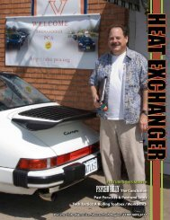 FEATuREd THiS monTH Psycho BillyThe Conclusion Past Porsches ...