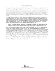 The purpose of a dialectical journal is to identify significant pieces of ...