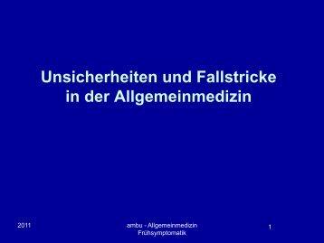 Thema 19: AGV-Fallstricke-in-der-Allgemeinmedizin