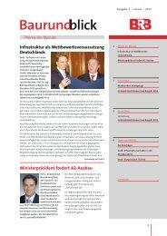 Baurundblick Januar 2011 (PDF) - ÖPP-Plattform, Öffentlich Private ...