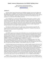 Quality Assurance Enhancements to the SMOKE ... - CiteSeerX