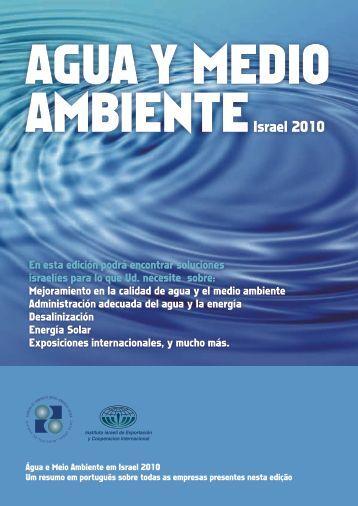 Agua y Medio Ambiente - Hacer negocios España- Israel