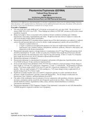 nmem + coi instructions to field reviewers - Pharmacy Benefits ...