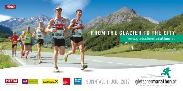 FROM THE GLACIER TO THE CITY SONNTAG, 1. JULI 2012
