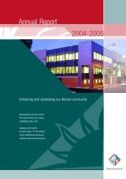 Annual Report 2004-2005 - City of Vincent