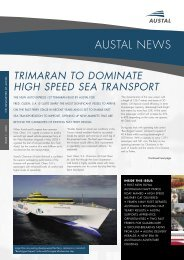 Austal News - Issue 1 2005 - Austal Ships