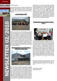 Newsletter 2_2010 fr - Marco Zenner