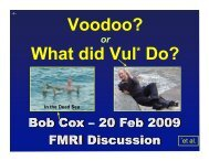 Voodoo? What did Vul* Do?