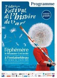 Télécharger le programme en PDF - Festival de l'histoire de l'art