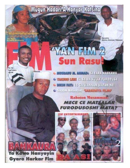 Mujallar FIM - July 2001 - Kano Online