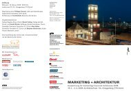 MARKETING + ARCHITEKTUR - Baukoma AG