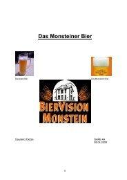 Das Monsteiner Bier - La Capriola