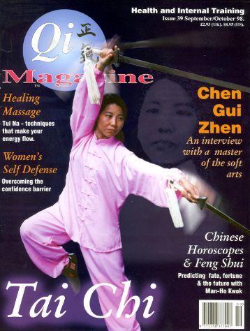 Issue 39 - Tse Qigong Centre