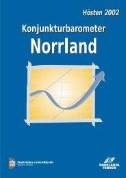 Konjunkturbarometern 2002 - Norrlandsfonden