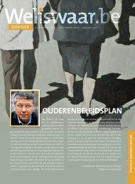 DOSSIER: ouderenbeleidsplan - Weliswaar
