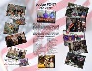 Share the New Lodge Brochure Today - Thousand Oaks Elks Lodge