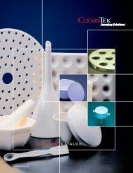 Coors Tek Labware Catalog - Lasalle Scientific Inc.