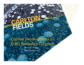 View Presentation in PDF - Carlton Fields
