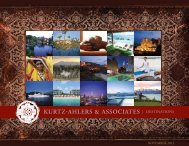 | DESTINATIONS - Kurtz-Ahlers & Associates