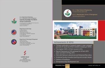 Download SKFGI Prospectus - Supreme Knowledge Foundation ...