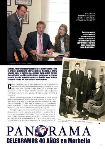 Baje / vea una copia de este artículo en formato PDF. - Panorama