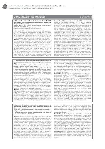 PDF - Revista de Osteoporosis y Metabolismo Mineral