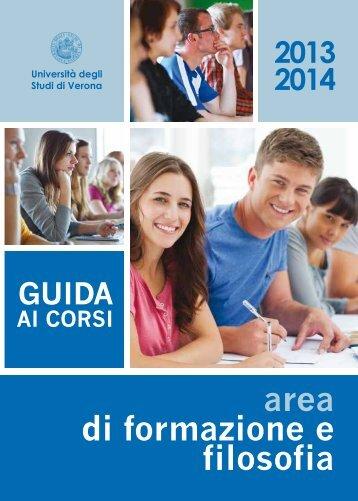 pdf (it, 411 KB, 17.07.13) - Università degli Studi di Verona