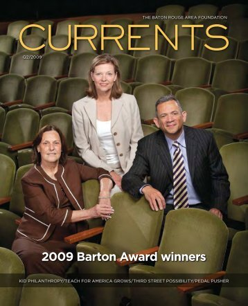 2009 - Q2 Barton Award winners. Students at SJA and CHS join to ...