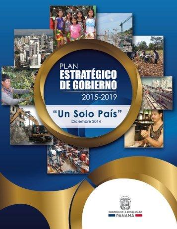 PEG PLAN ESTRATEGICO DE GOBIERNO 2015-2019